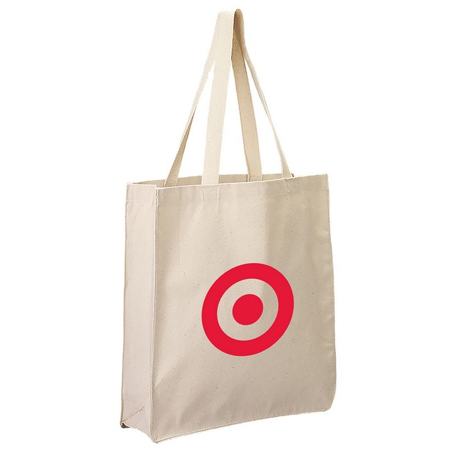Cotton Canvas Grocery Tote